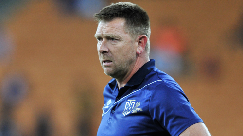 Cape Town City coach Eric Tinkler