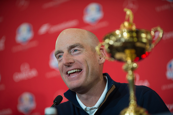 Furyk will captain Team USA at 2018 Ryder Cup