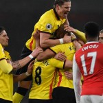 Watford sink Arsenal, Spurs end in stalemate