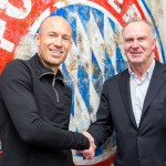 Robben sign new Bayern deal
