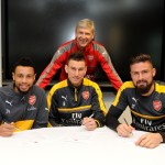 French trio commit to Arsenal