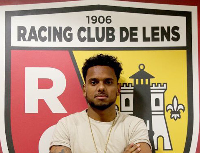 Erasmus signs for Ligue 2 side RC Lens