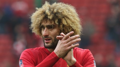 Man United's Fellaini