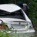 Bhasera escapes car crash