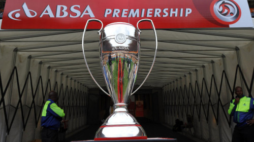 The Absa Premiership Trophy