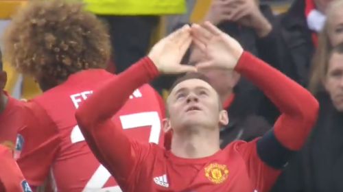 FA Cup highlights featuring Wayne Rooney