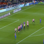 Messi scores another amazing free kick