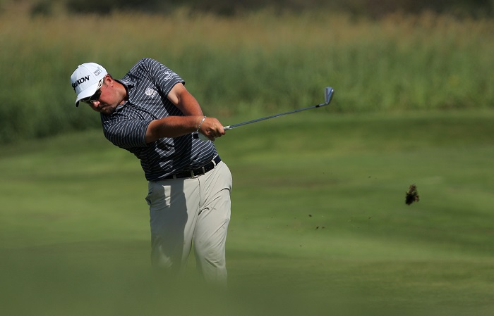 Ahlers shapes up on home soil
