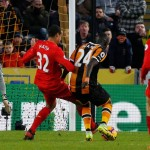 Hull sink Liverpool, Everton put six past Bournemouth