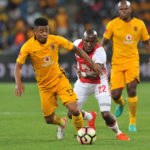 Goerge Lebese of Kaizer Chiefs
