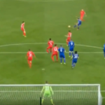 WATCH: Drinkwater's thunderous half-volley