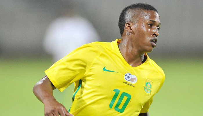 Luther Singh of South Africa.