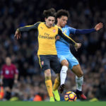 Hector Bellerin and Leroy Sane