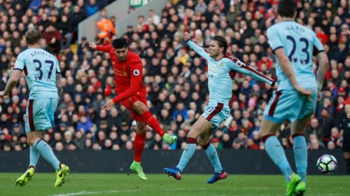 Emre Can scores for Liverpool