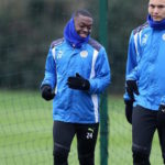 Leicester City midfielder Papy Mendy