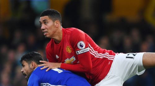 Chris Smalling and Diego Coast