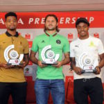 Marc van Heerden, Percy Tau and George Lebese