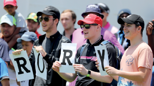Rory McIlroy fans