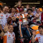 Marquez happy to be back in championship