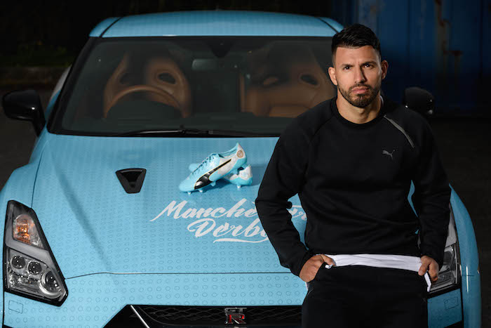 various colors hot products where can i buy PUMA unveils Sergio Aguero's Manchester derby day boots