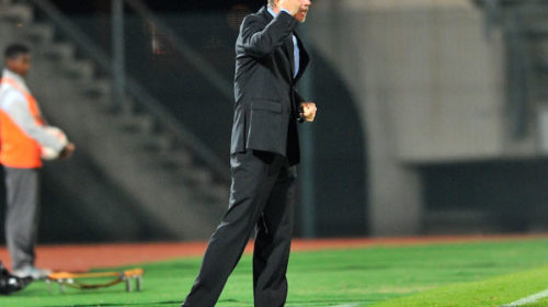 SuperSport United coach Stuart Baxter