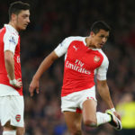 Arsneal duo Mesut Ozil and Alexis Sanchez