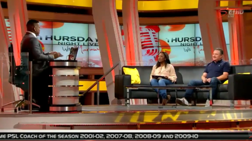 Wits coach Gavin Hunt on TNL with Robert Marawa