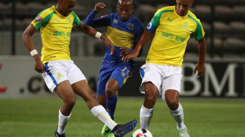 Cape Town City winger Aubrey Ngoma