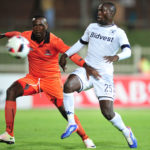Cuthbert Malajila challenged by Thapelo Tshilo