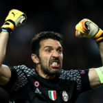 Juventus goalkeeper Gianluigi Buffon