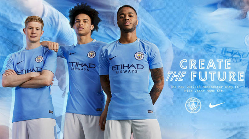 best sneakers e89c6 dac96 Manchester City release new kit for 2017-18 season