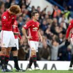 Marouane Fellaini, Ander Herrera and Paul Pogba