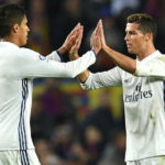 Real Madrid duo Raphael Varane and Critano Ronaldo