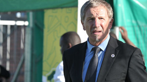 Stuart Baxter coach of Supersport United