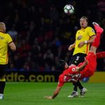 Liverpool's Emre Can scores against Watford