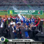 2017 Nedbank Cup champions SuperSport United