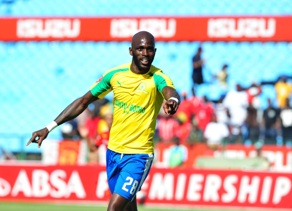 Mamelodi Sundowns striker Anthony Laffor