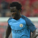 Manchester City striker Wilfried Bony