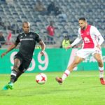 Orlando Pirates forward Gift Motupa