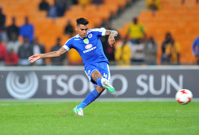 SuperSport United defender Clayton Daniels