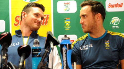 Graeme Smith and Faf du Plessis
