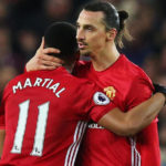 Anthony Martial and Zlatan Ibrahimovic