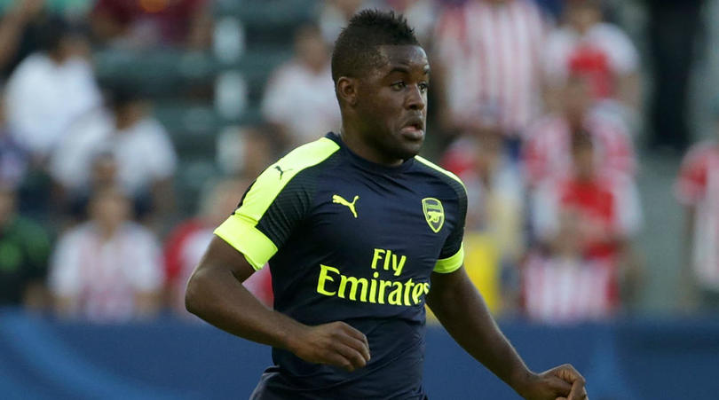 Arsenal forward Joel Campbell