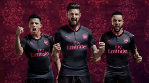 Arsenal's new third kit
