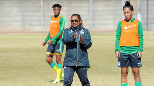 Banyana Banyana coach Desiree Ellis