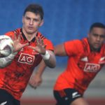 Beauden Barrett train for Lions