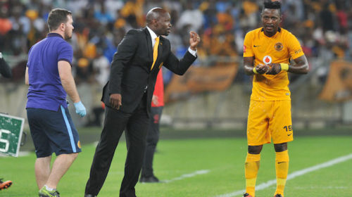 Kaizer Chiefs forward Lewis Macha