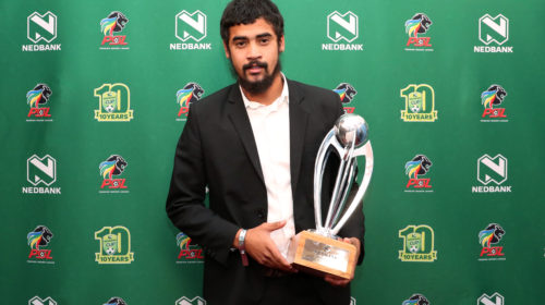 Nedbank Cup Player of the Tournament Abbubaker Mobara