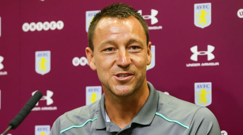 New Aston Villa signing John Terry