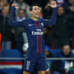 Paris Saint-Germain forward Angel Di Maria